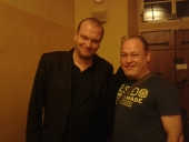 With super french saxofonist Franck Wolf
