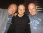 Two legendary drummers Michal Hejna and Dave Weckl